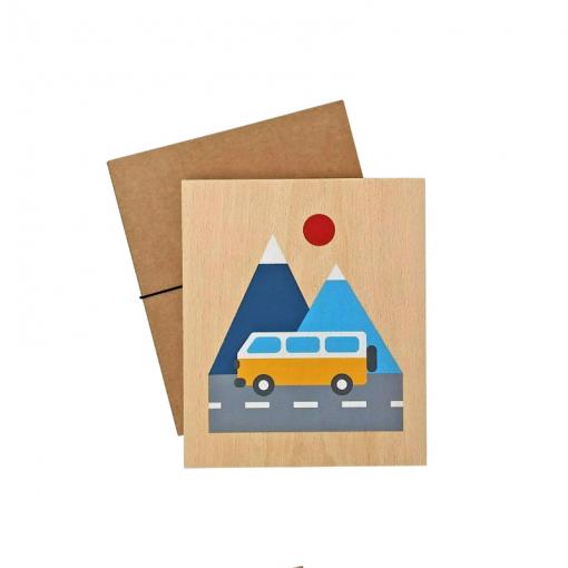 Lubulona van print with packaging