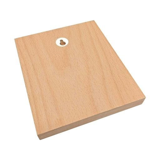 back print beech wood