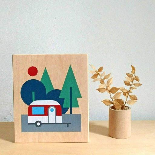 Lubulona caravan print