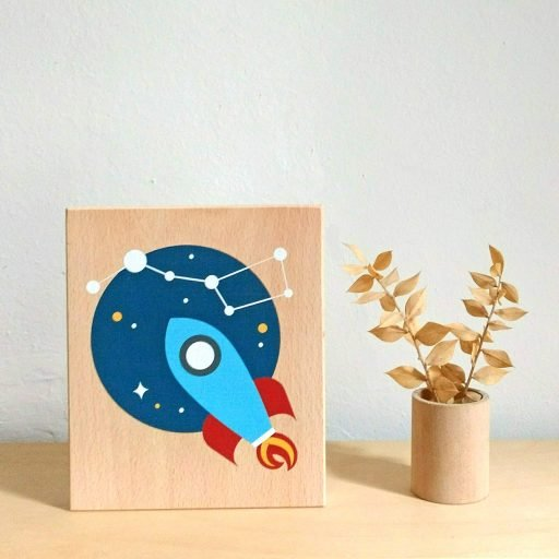 Lubulona rocket print