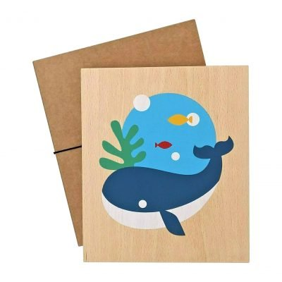 Lubulona Whale print with packaging
