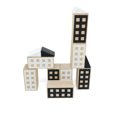Happy Houses Black&White construction toy for boys and girls