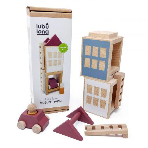 Lubulona Lubu Town Autumnvale Mini construction toy