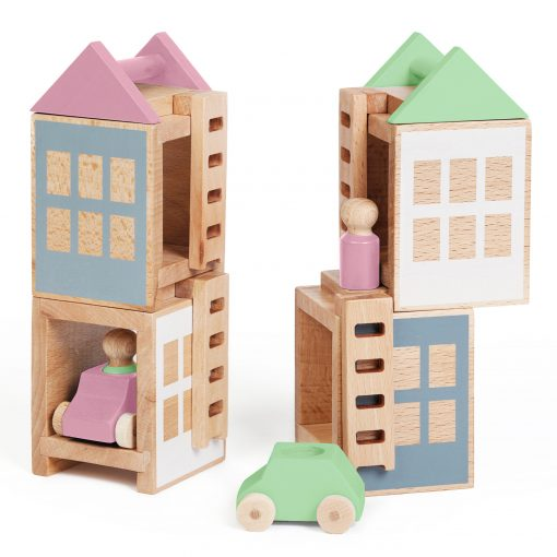 Lubu Town Spring City Maxi construction toy Lubulona