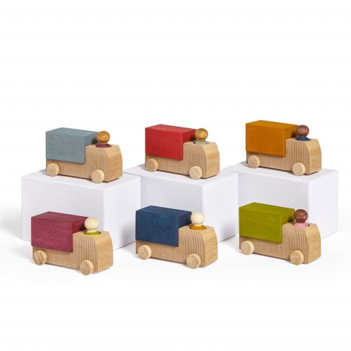 Lubulona Wooden Truck all colours