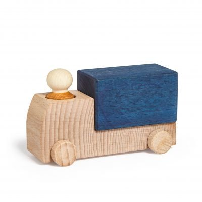 Lubulona wooden Truck Blue
