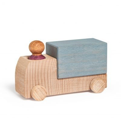 Lubulona wooden Truck Grey