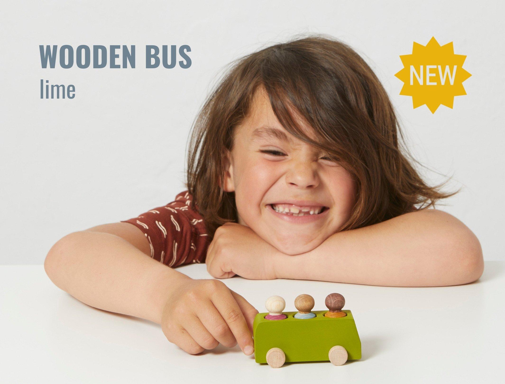 Lubulona wooden buses
