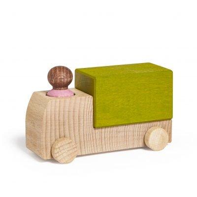 Lubulona wooden Truck Lime