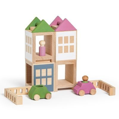 Lubulona Lubu Town Spring City Maxi wooden construction city