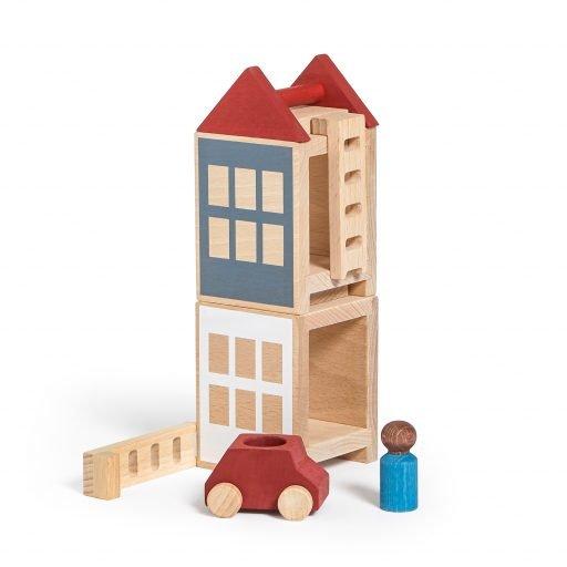 Lubulona Lubu Town Summerville Mini wooden construction city