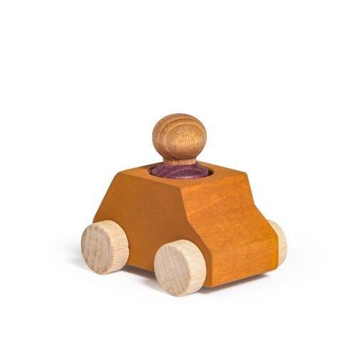Lubulona Wooden Car Ochre