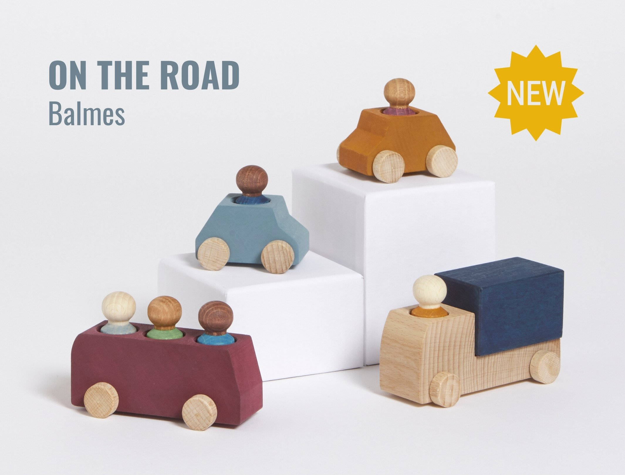 Lubulona On the Road wooden vehicles