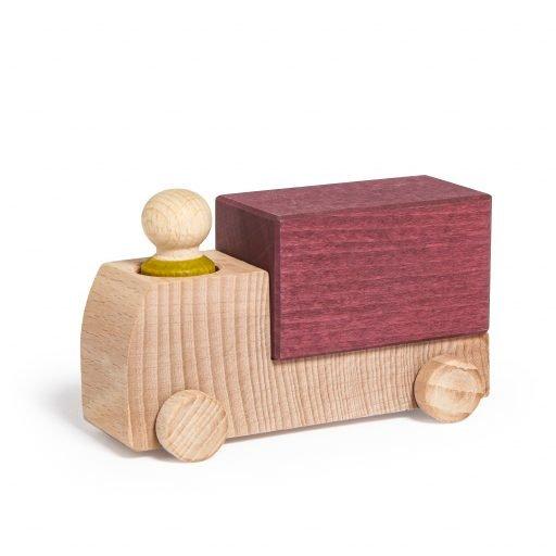 Lubulona wooden Truck Plum