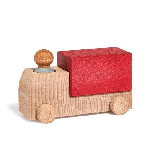 Lubulona wooden Truck Red