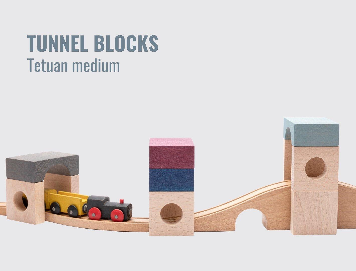 Lubulona Tunnel Blocks city construction blocks