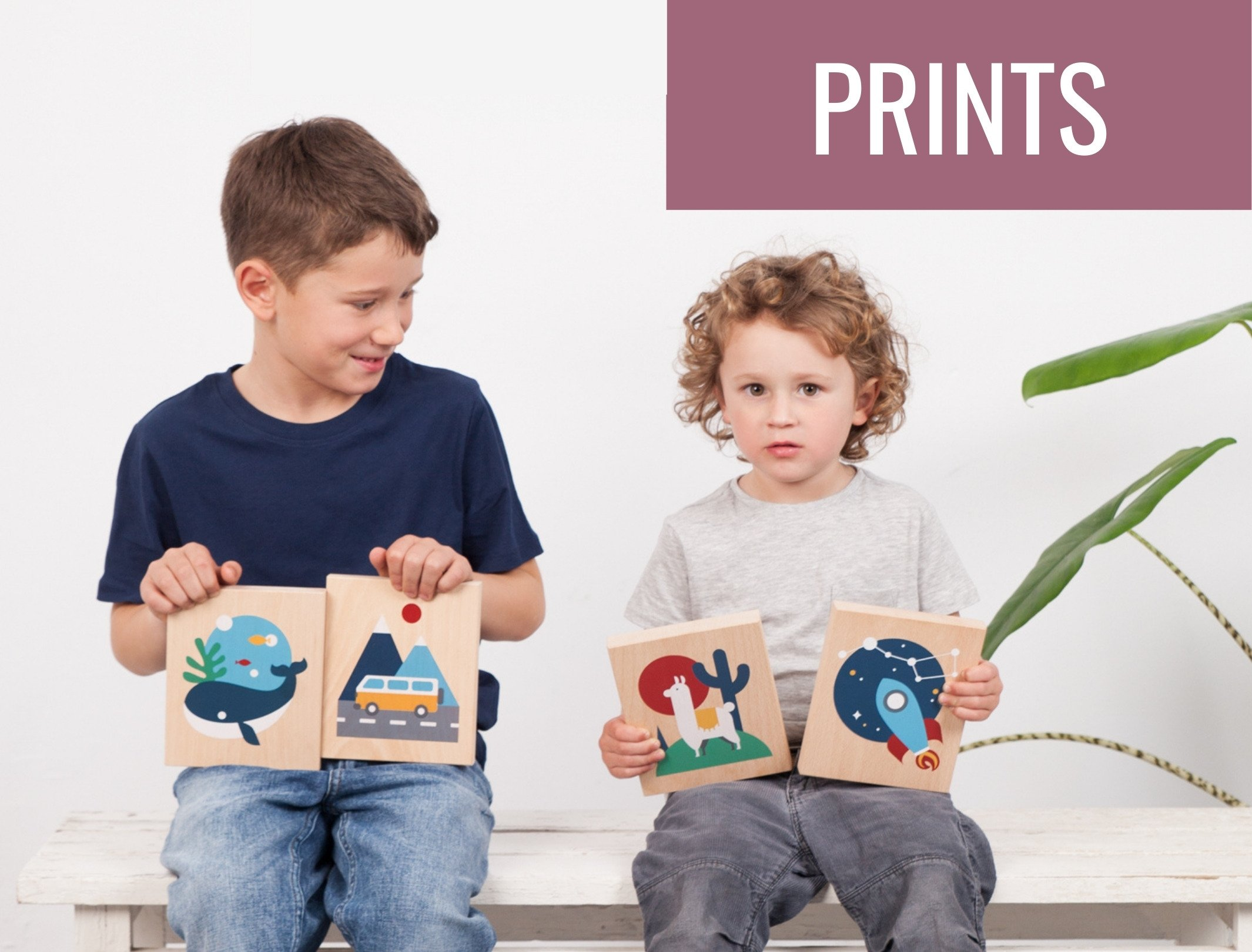 Lubulona wooden prints